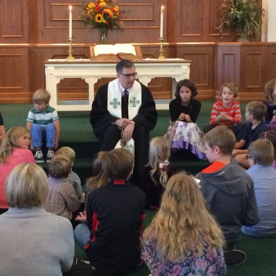 Children's Sermon, Rev. David Pattee - September 20, 2015